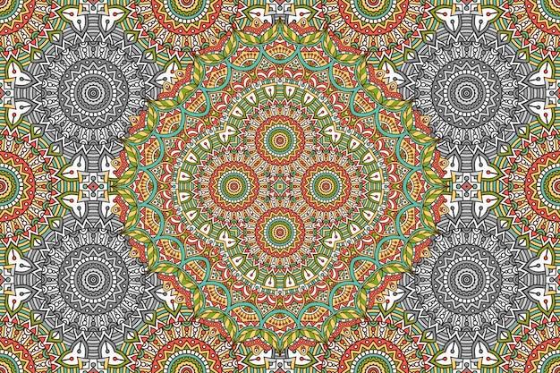 Abstract mandala naadloos patroon