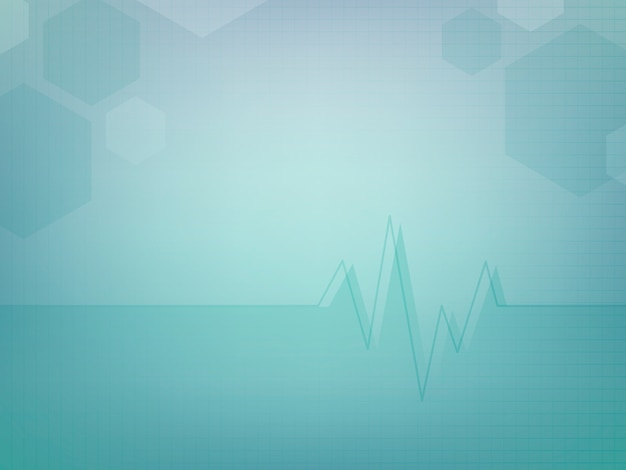 Abstract medisch behang sjabloonontwerp