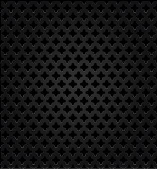 Abstract metaal donker vectorontwerp als achtergrond