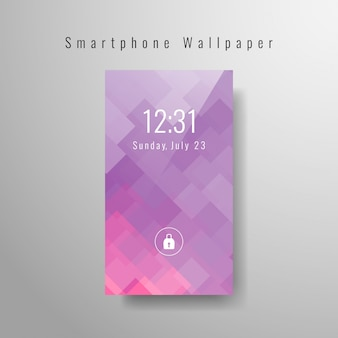 Abstract modern smartphone behang ontwerp