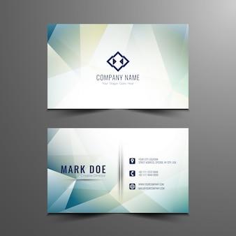 Abstract modern visitekaartje ontwerp