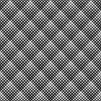 Abstract naadloos afgerond vierkant naadloos patroonontwerp