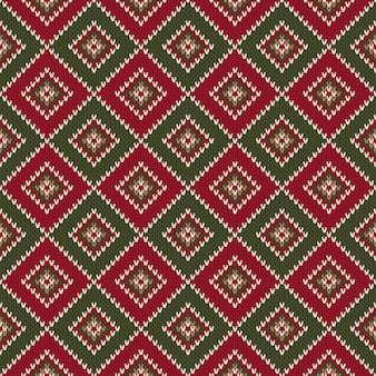 Abstract naadloos breipatroon. kerst trui ontwerp. wol gebreide textuur imitatie.