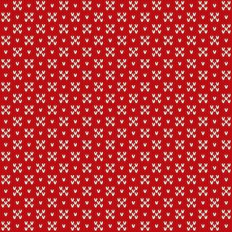 Abstract naadloos gebreid patroon. gebreide wollen trui design. wol gebreide textuur imitatie.