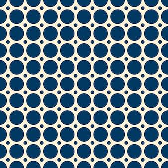 Abstract naadloos patroon met herhalende erwten