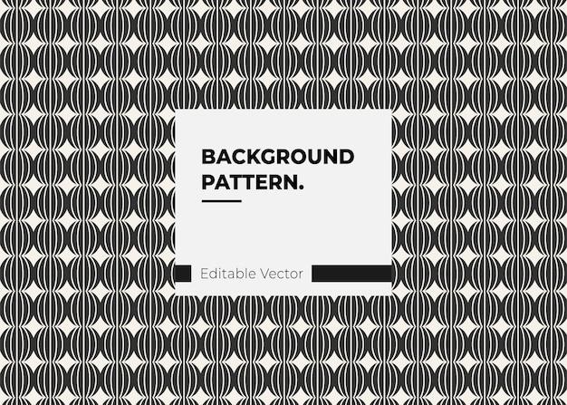 Abstract naadloos patroon retro