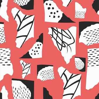 Abstract naadloos patroonontwerp