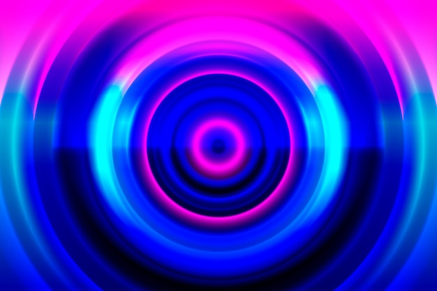 Abstract neonlichten achtergrondthema