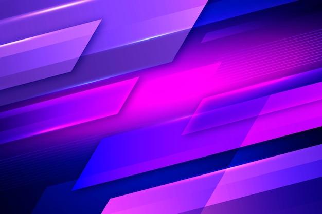 Abstract neonlichten behangthema