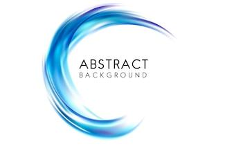Abstract ontwerp als achtergrond in blauw