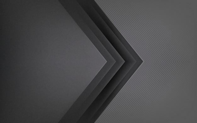 Abstract ontwerp als achtergrond in donkergrijs