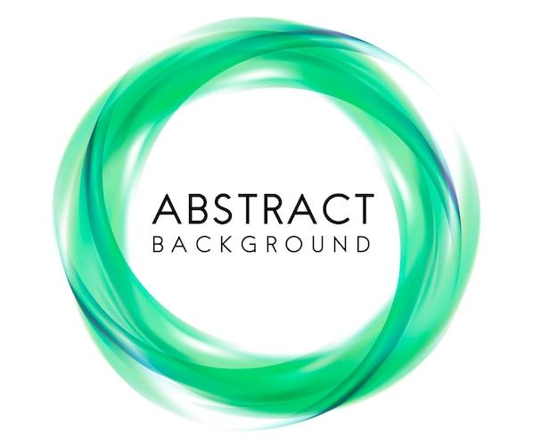 Abstract ontwerp als achtergrond in groen