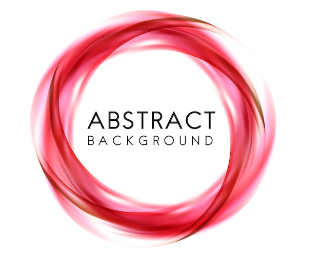 Abstract ontwerp als achtergrond in rood