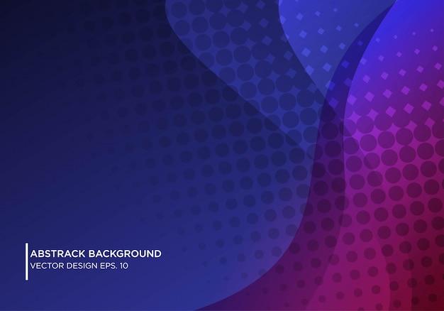 Abstract ontwerp als achtergrond met golvende vorm