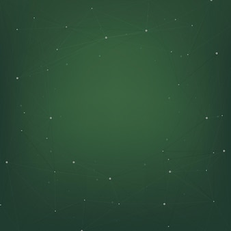 Abstract ontwerp als achtergrond met sterren op groen