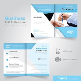 Abstract ontwerp van de brochure