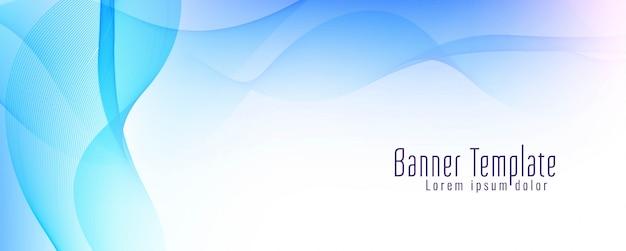 Abstract ontwerp van de golf kleurrijk banner