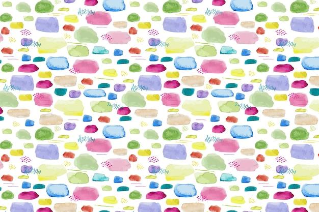 Abstract ontwerp van waterverfpatroon