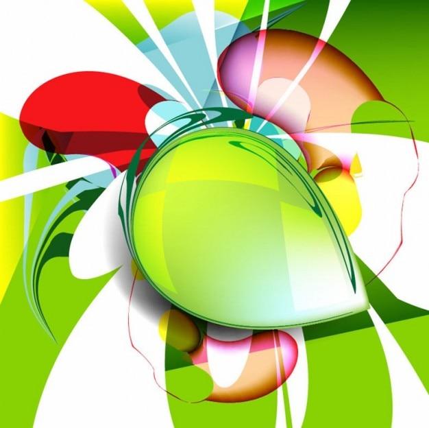 Abstract ontwerp vector achtergrond illustratie