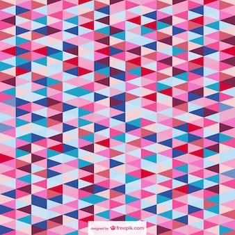 Abstract op-art driehoek achtergrond
