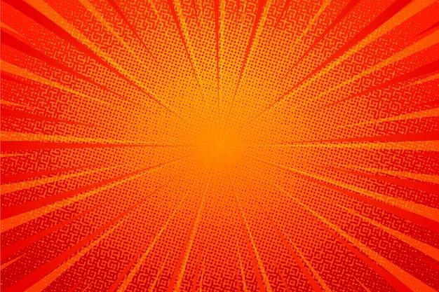 Abstract oranje halftoon achtergrond