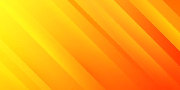 Abstract oranje verloop strepen achtergrond