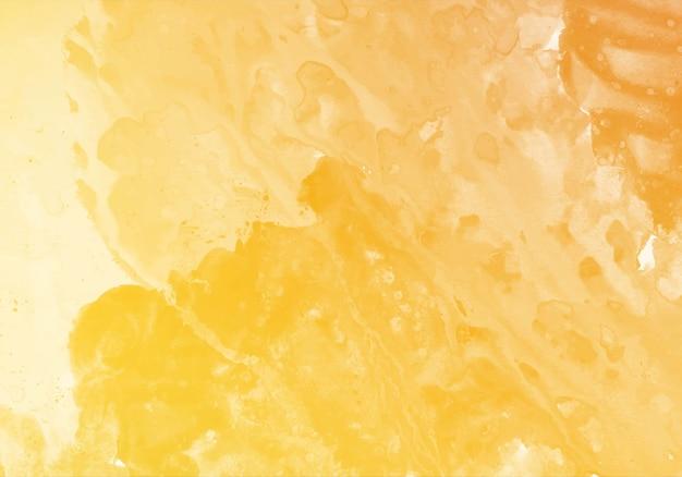 Abstract oranje zachte aquarel textuur