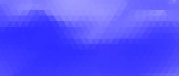 Abstract paars geometrisch driehoeksbannerontwerp