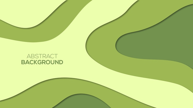 Abstract papier gesneden 3d-achtergronden
