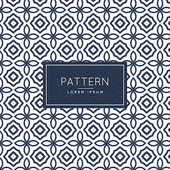Abstract patroon met bloemen vormen
