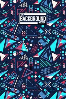 Abstract patroon met geometrisch concept