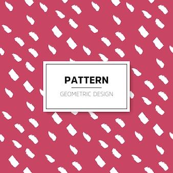 Abstract patroon naadloze vector achtergrond blauwe en witte textuur grafisch modern patroon