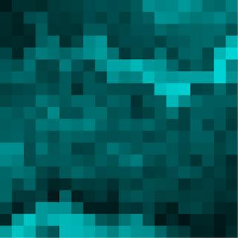 Abstract pixel groen ontwerp als achtergrond