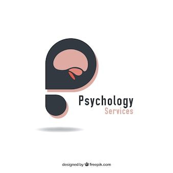 Abstract psychologie logo