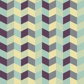 Abstract retro geometrisch patroon