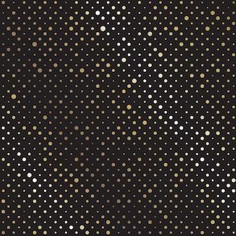 Abstract retro naadloos patroon met cirkels