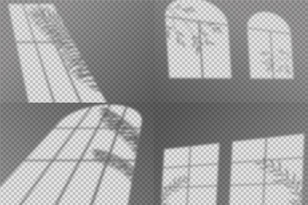 Abstract schaduwen overlay effect concept