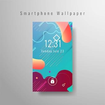 Abstract smartphonebehang