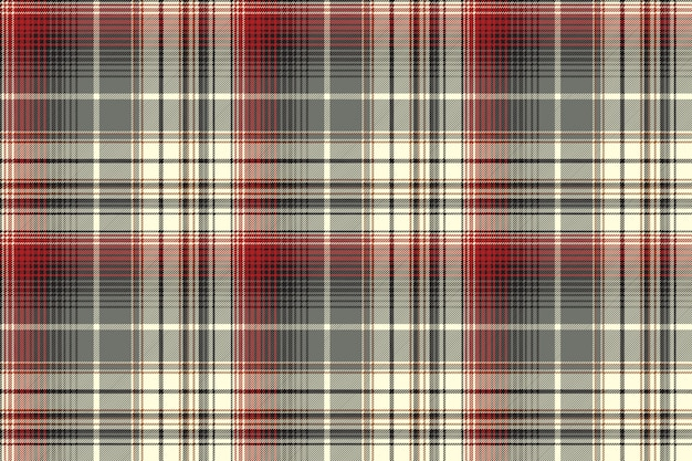 Abstract tartan naadloos patroon