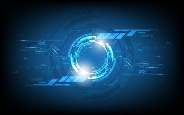 Abstract technologie achtergrondinnovatieconcept