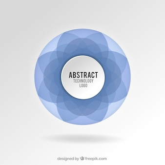 Abstract technologie logo