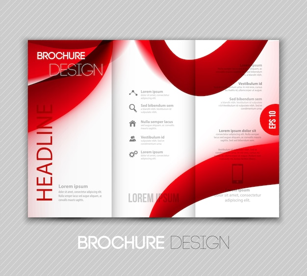 Abstract transparant fractal golf achtergrond sjabloon brochureontwerp