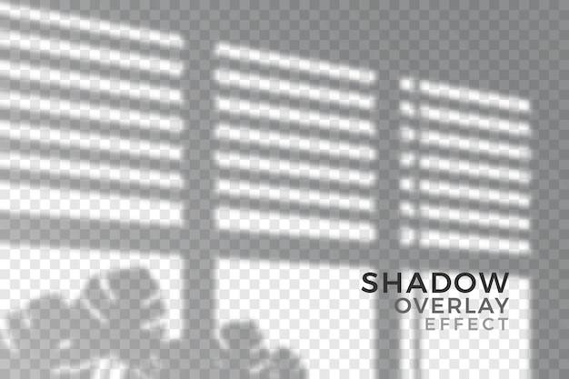 Abstract transparant schaduwenthema