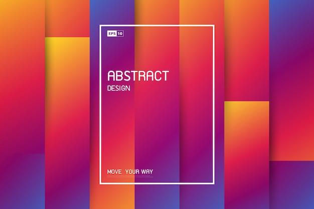 Abstract trendy naadloos lijnpatroon
