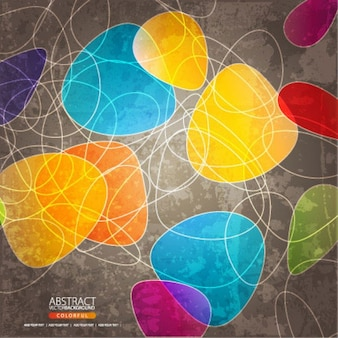 Abstract vector achtergrond coloful | download free vector
