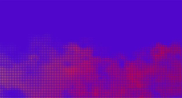 Abstract vector achtergrond halftone gradatie gradatie levendige textuur rook effect retro design