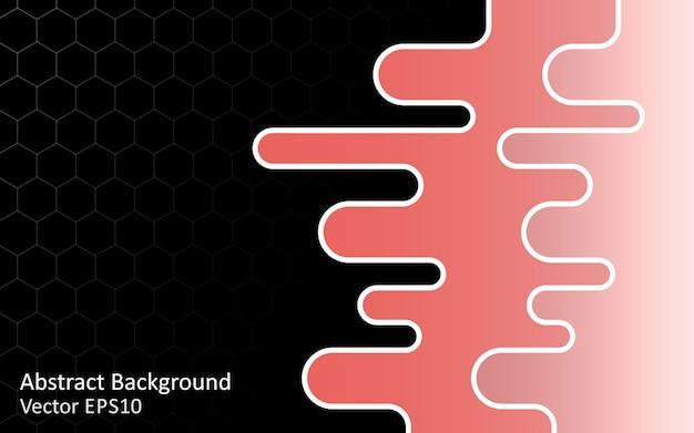 Abstract vector achtergrond, sjabloonontwerp