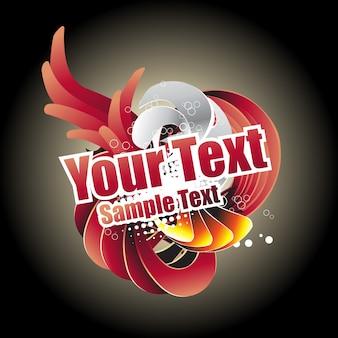 Abstract vector kleurrijk ontwerp plaats uw tekst of kunstwerk bezoek mijn gallary voor meer ontwerpen als deze