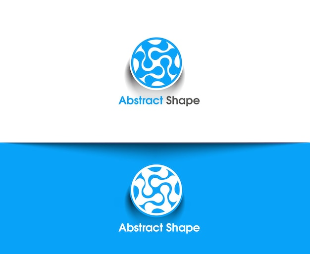 Abstract vector logo en symbool design
