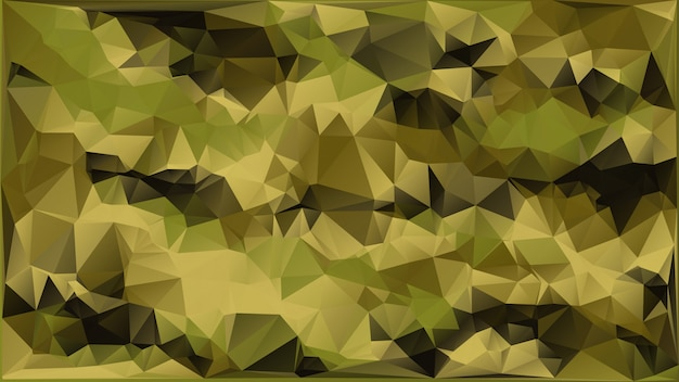 Abstract vector militaire camouflage achtergrond gemaakt van geometrische driehoeken shapes.polygonal stijl.